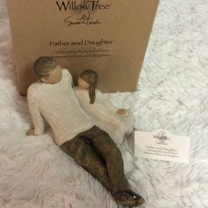 Willow Tree Father and Daughter Figurine New